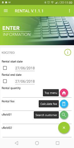 Rental Setup