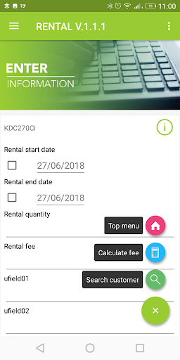 begin Rental App KOAMTACON by KOAMTAC