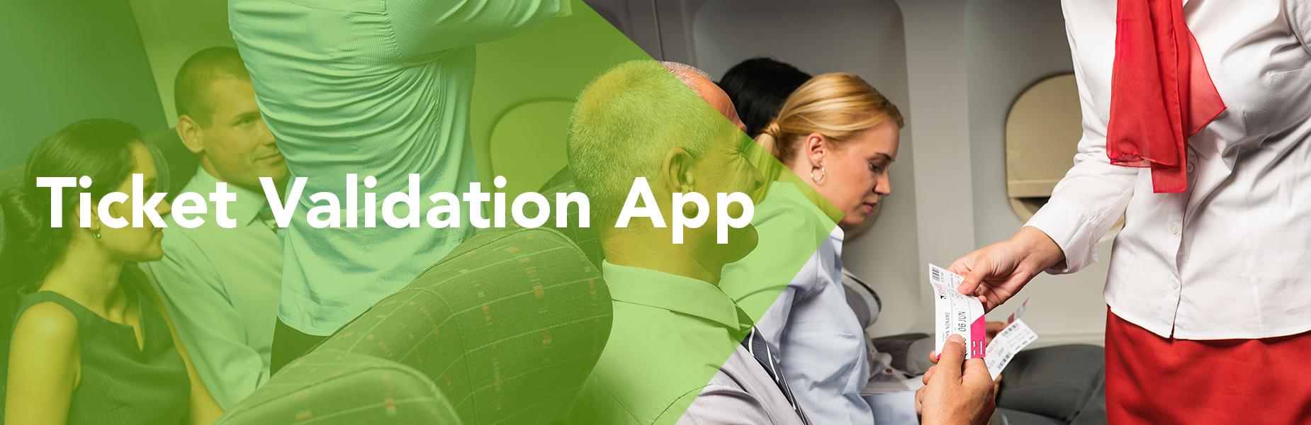 Ticket Validation App in KOAMTACON