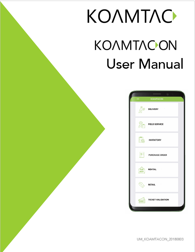 KOAMTACON User Manual