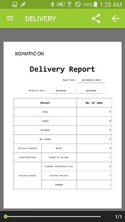 Full reporting in KOAMTACON